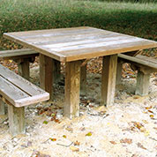 Table de Pique Nique en Bois ACCESS