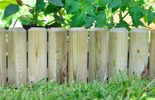 Garden Wooden Border