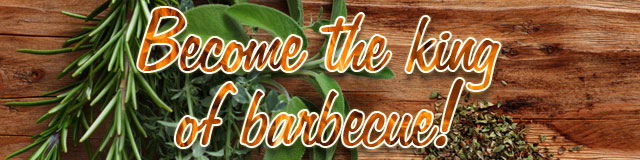 Become the king of barbecue!