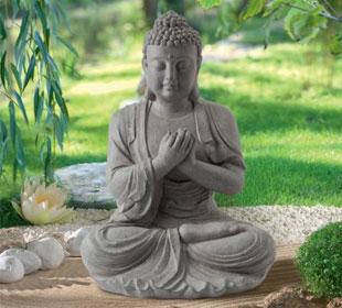 Estatua de Jardín Zen Buda
