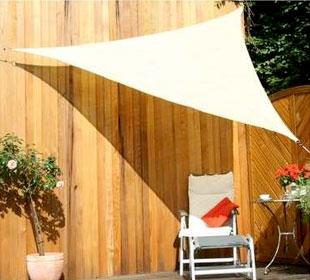 Openwork sun canopy