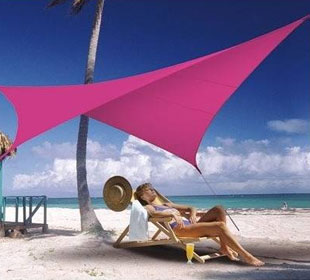 Lona parasol impermeable cuadrada