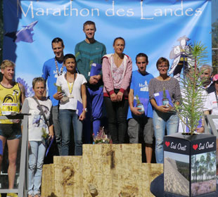 Planfor finished first at the Landes Marathon!