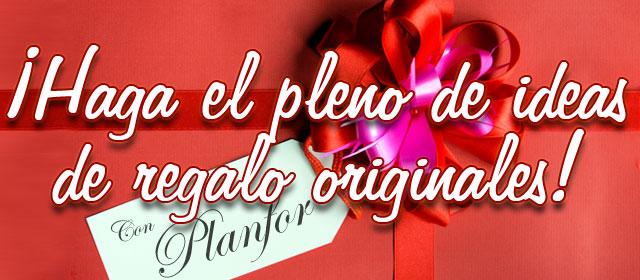 ¡Haga el pleno de ideas de regalo originales con Planfor!