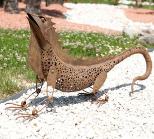 Animal Decorativo - Iguana