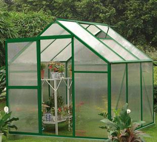 Invernadero de policarbonato - Lilas 5,06 m2