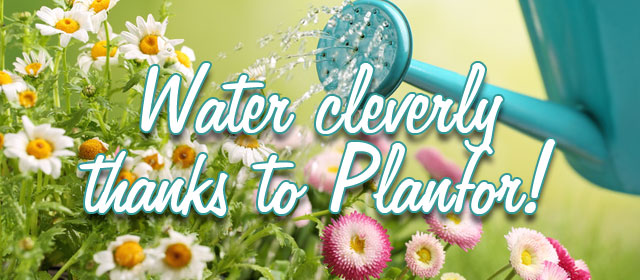 Water cleverly thanks to Planfor!