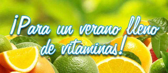 ¡Para un verano lleno de vitaminas!