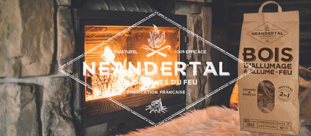 Kindling wood and fire starter - NEANDERTAL