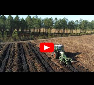 Working the deep soil with machines
